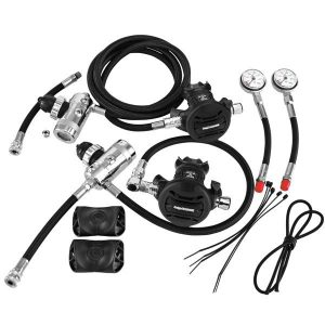 Apeks XTX50 Sidemount Regulator package