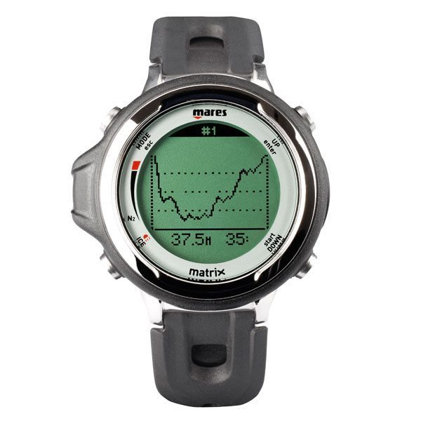 Mares matrix dive computer black aqualogistics - Mares dive watch ...