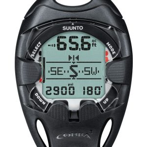 Suunto Cobra 3 Dive Computer & Quick disconnect