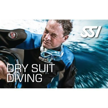 ssi dry suit diving
