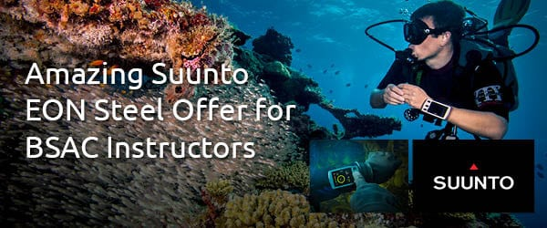 Special Suunto Offer for BSAC Instructors