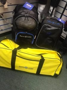 scuba diving bags